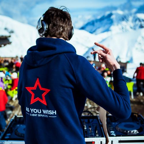 DJ set ski